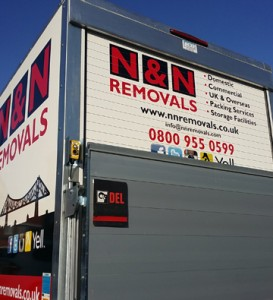 Cross country removals Hartlepool